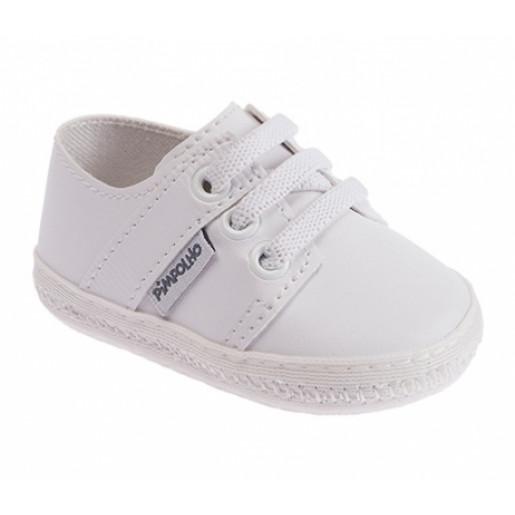 Sapato Masculino Batizado 0017537 com Elástico - Pimpolho