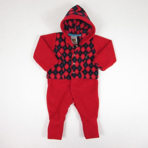 Macacão Masculino Soft com Capuz 112153 - Aconchego do Bebê 58a2e01271f