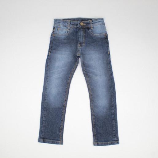 Calça Jeans Masculina com Ajuste na Cintura 20317R - Akiyoshi