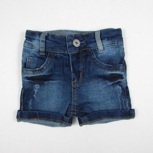 Bermuda Masculina Jeans com Ajuste na Cintura 75052 - Akiyoshi