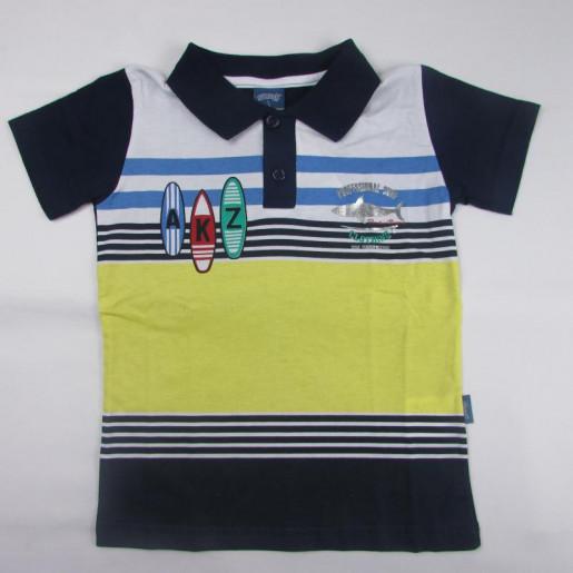 Camiseta Masculina Polo Listrada AKZ 30930 - Alakazoo