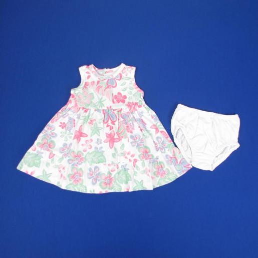 Vestido Estampas Sortidas 4322 - Baby Fashion