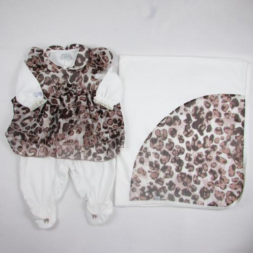 Saida Maternidade Feminina Suedine 8549 Oncinha - Beth Bebe