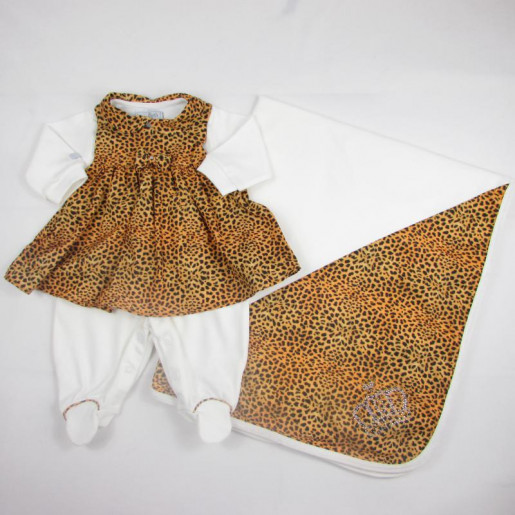 Saida Maternidade Feminina Suedine 9955 Oncinha - Beth Bebe