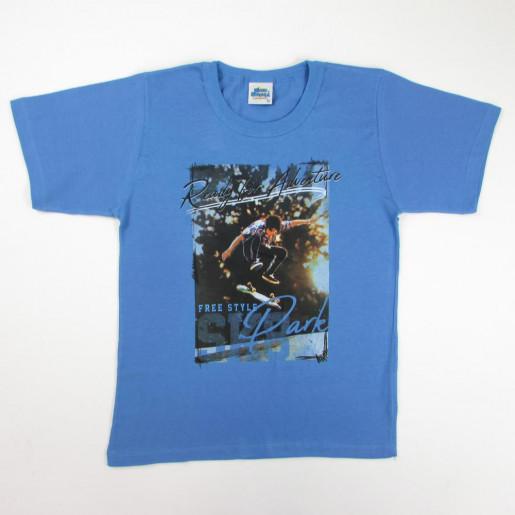Camiseta Manga Curta Estampada Park 6000 - Bicho Bagunça