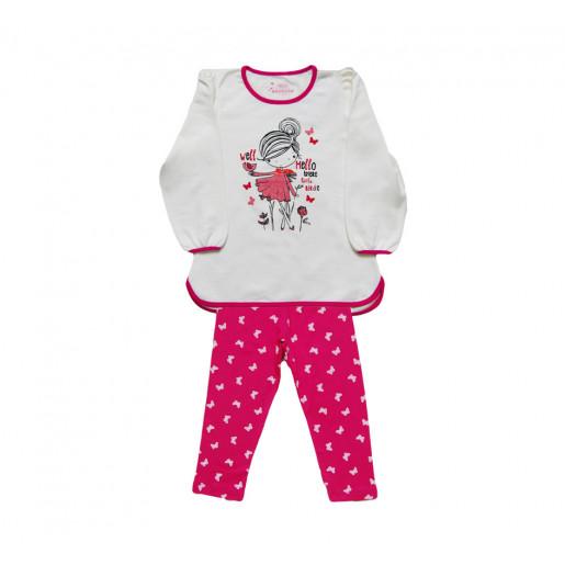 Pijama Flanelado Feminino 18143 Borboletas - Have Fun