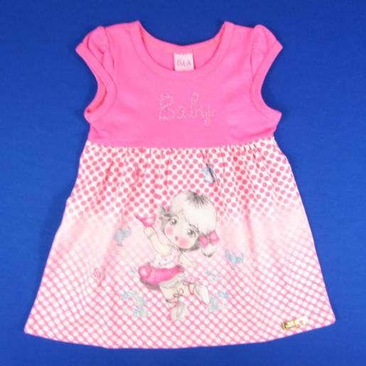 Vestido Estampado Bolinhas 5617006 Baby - Dila