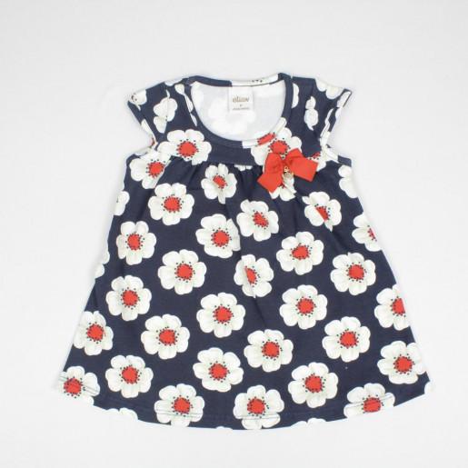 Vestido Estampado Flores 21930 - Elian