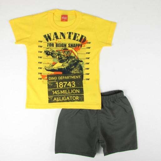 Conjunto Masculino Estampado Wanted 22748 - Elian