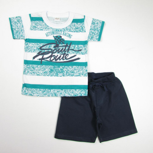 Conjunto Masculino Estampado South Route 22803 - Elian