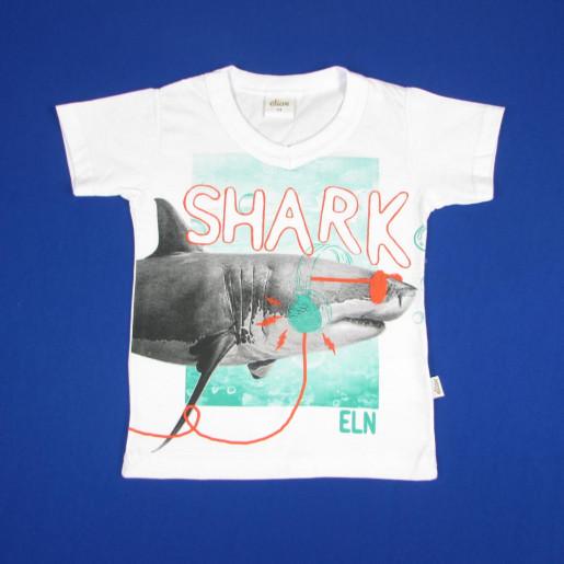 Camiseta Manga Curta Estampada Shark 22818 - Elian