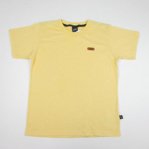 Camiseta Manga Curta Flamê Lisa Gola V 26521 - Elian