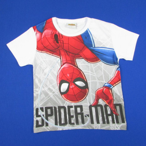 Camiseta Manga Curta Estampada Spiderman 3572 - Fakini