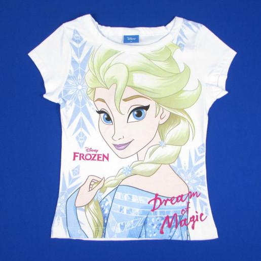 Blusa Manga Curta Estampada Frozen 3578 - Fakini