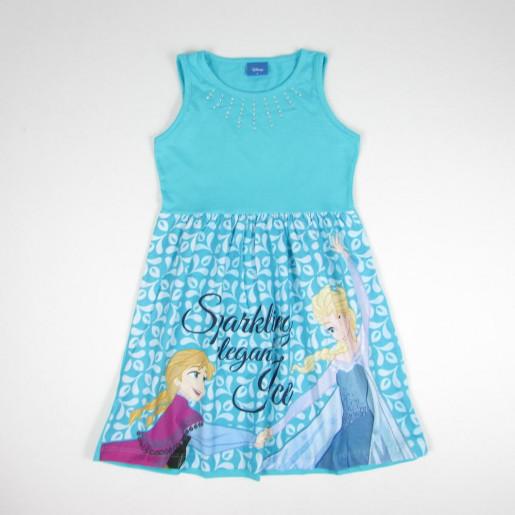 Vestido Estampado Frozen com Strass 3588 - Fakini