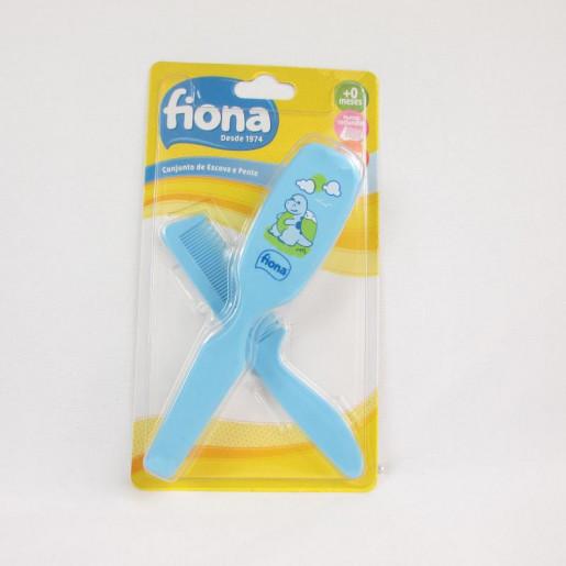 Conjunto Escova e Pente 8025 - Fiona