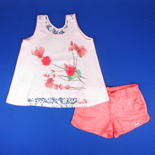 Conjunto Feminino Devorê com Shorts 17996 - Have Fun
