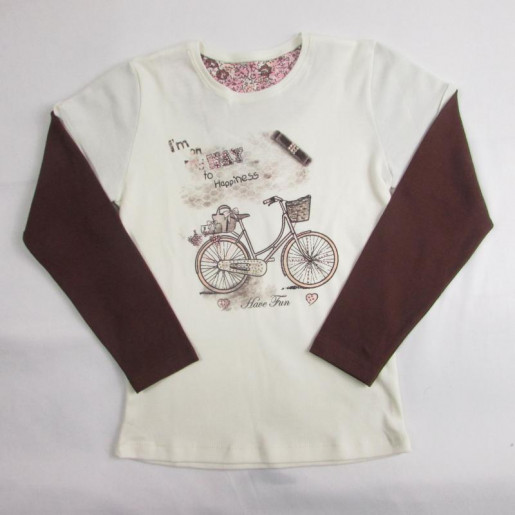 Blusa Feminina Sobreposta 18288 Bike - Have Fun