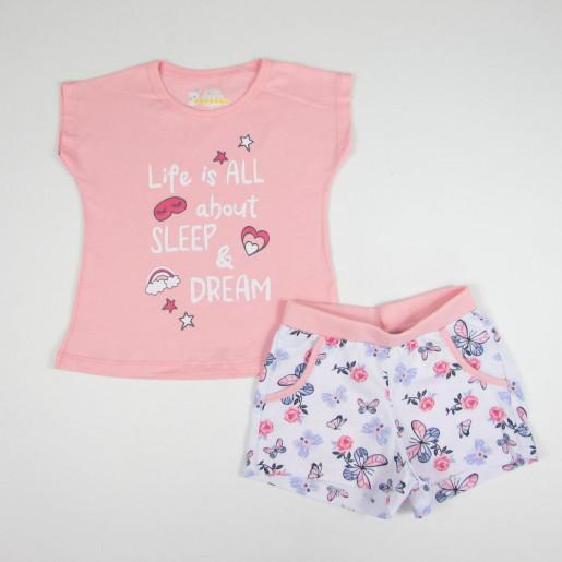 Pijama Curto Feminino Estampado Sleep & Dream 21454- Have Fun