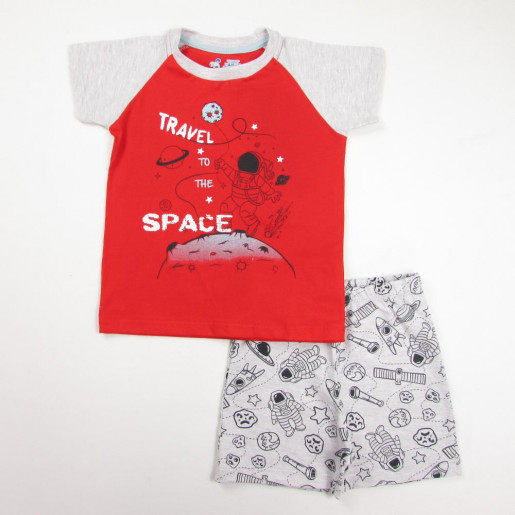 Pijama Curto Masculino Estampado Space 21195 - Have Fun