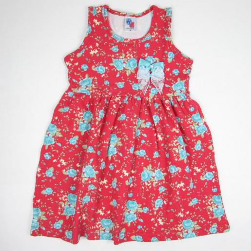 Vestido Floral com Laço 12213 - Hdu