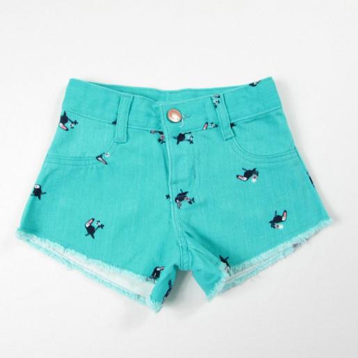 9215b532f Shorts Sarja Estampado Feminino C6WH - Hering
