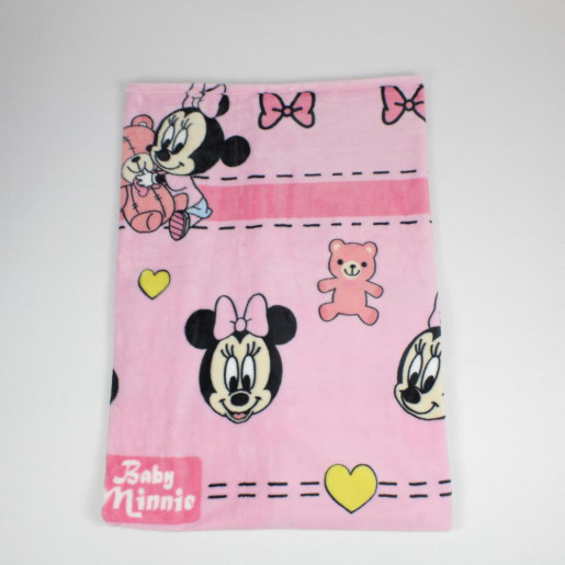 Manta Microfibra Disney Estampado Minnie Urso - Jolitex