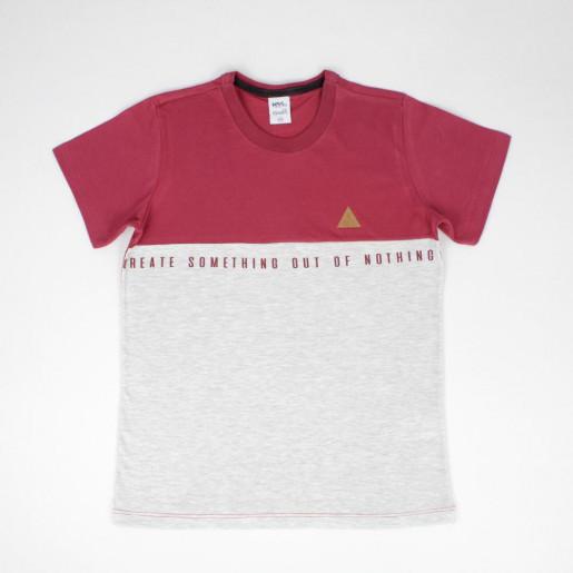 Camiseta Manga Curta Estampada Something 11569 - Kamylus