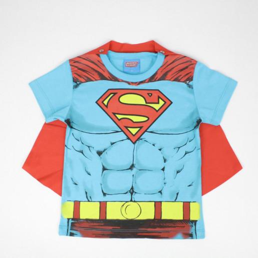 Camiseta Estampada Super Homem com Capa 82156 - Kamylus