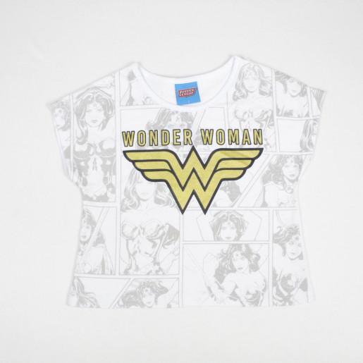 Blusa Estampada Wonder Woman 82161 - Kamylus