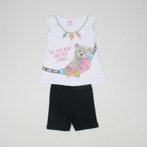 Conjunto Feminino Estampado Teed Bear 32201 - Kely Kety