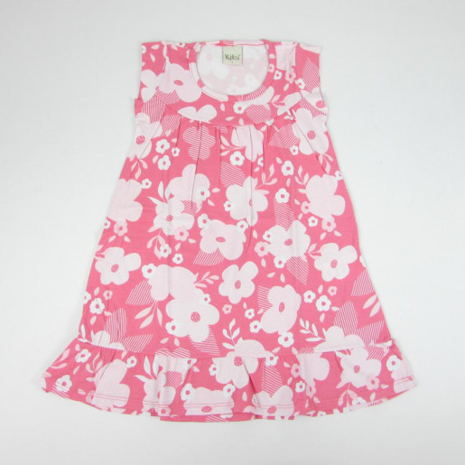 Vestido Cotton Estampado Flores 5316 - Kiko