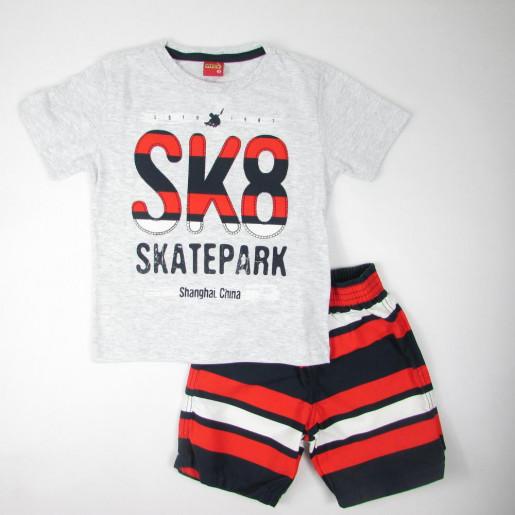 Conjunto Masculino Estampado Skate Park 108391 - Kyly