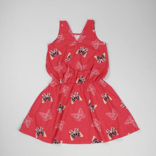 Vestido Estampado Borboletas 109671 - Kyly