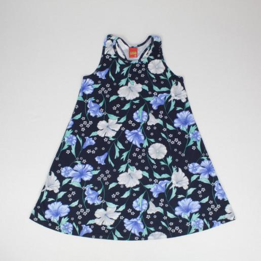 Vestido  Estampado Flores 110038 - Kyly