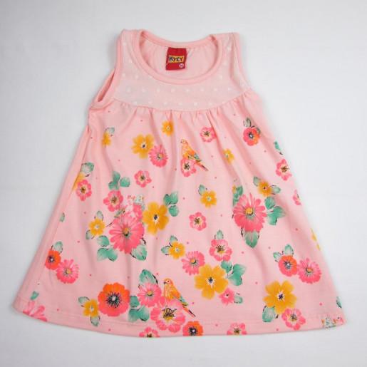 Vestido Cavado 107806 Flores - Kyly