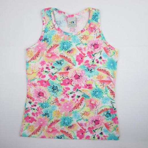 Blusa Feminina Cavada Estampada 1000001050 - Malwee