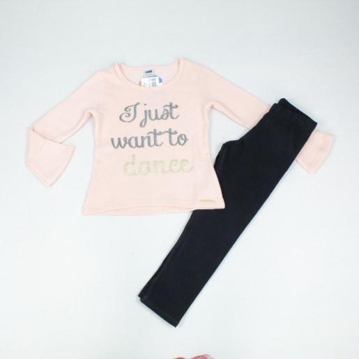 Conjunto Longo Feminino Blusa Dance e Legging 24657 - Marlan