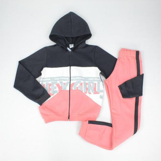 Conjunto Moletom 24669 Feminino Aberto Cool Fashion - Marlan
