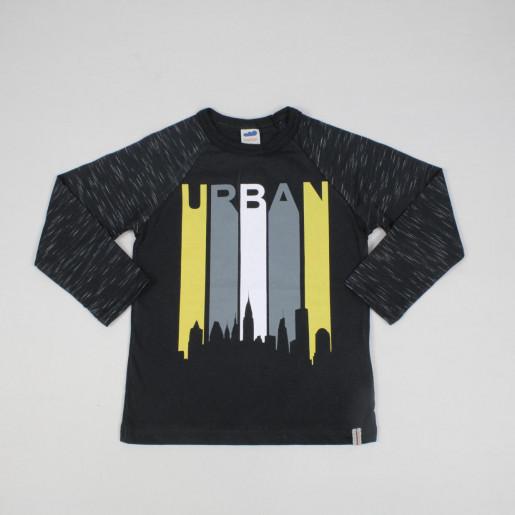 Camiseta Manga Longa 24697 Estampada Urban - Marlan