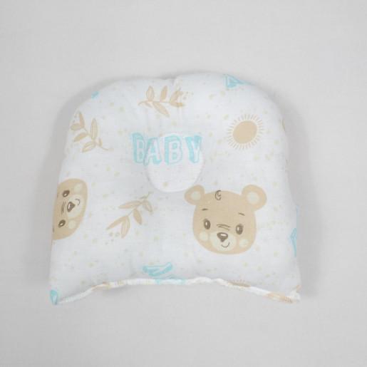 Travesseiro Anatomico Estampado Ursos 3412 - Minasrey