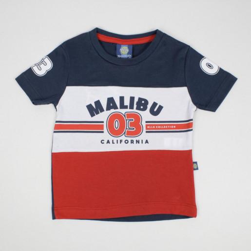 Camiseta Manga Curta Estampada Malibu 3803 - Nellonda