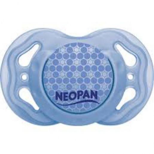 Chupeta com Bico Ortodôntico Azul 4781 Tam2 - Neopan