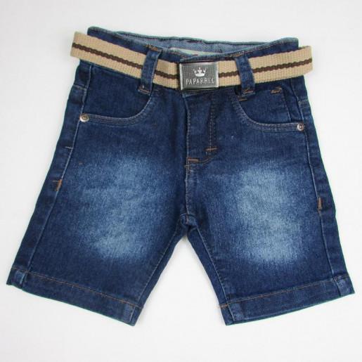 Bermuda Masculina Jeans com Cinto 2215 - Paparrel