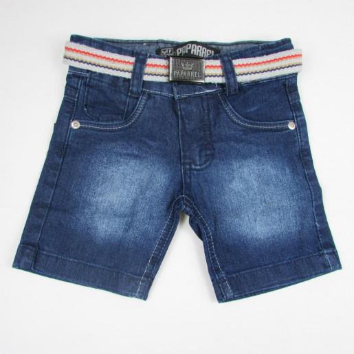 Bermuda Jeans Masculina com Cinto 2248 - Paparrel
