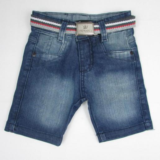 Bermuda Masculina Jeans com Cinto 2249 - Paparrel