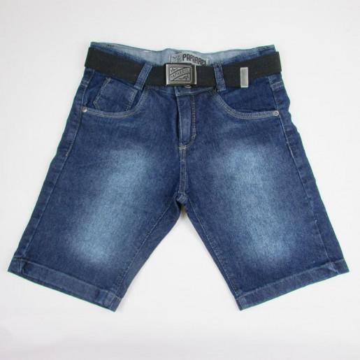 Bermuda Jeans Masculina com Cinto 2259 - Paparrel