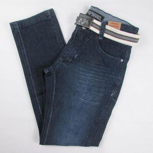 Calça Jeans com Cinto Masculina 2295 - Paparrel