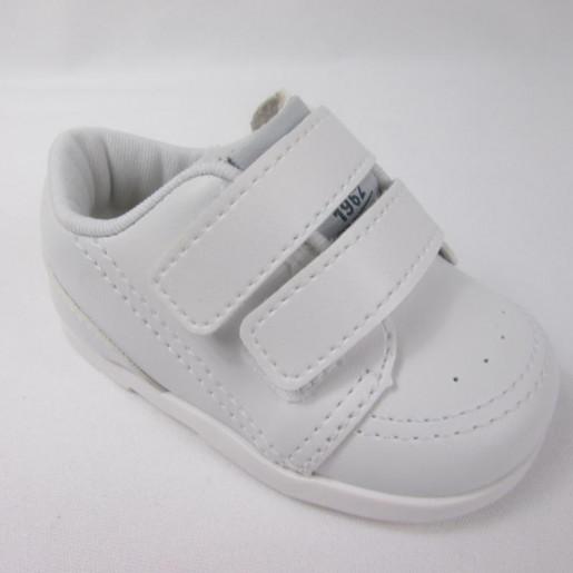 Sapato Batizado com Velcro Masculino 26339 - Pimpolho