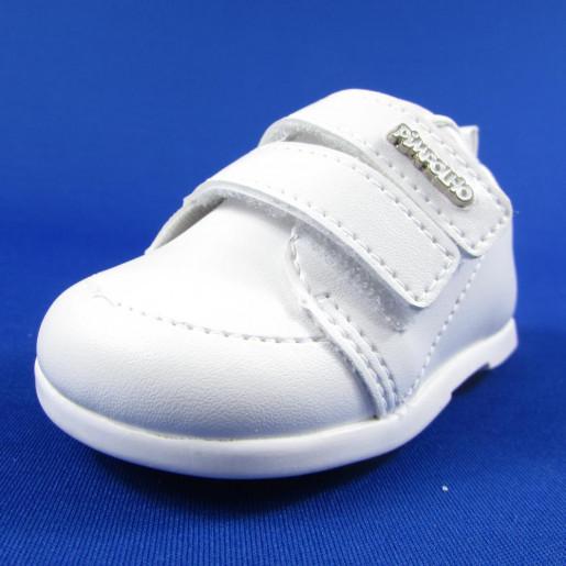 691d3ba75 Sapato Masculino Batizado com Velcro 26970 - Pimpolho